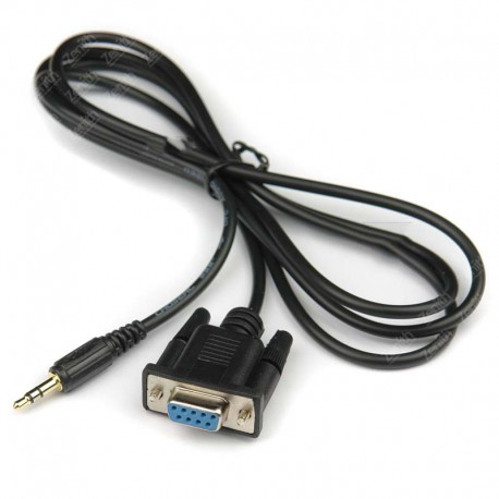 Cable serial a plug 3.5 para azplay, openbox mini, v8 super, etc