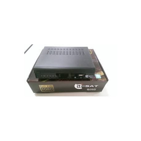 Receptor Q-Sat Q26G con GPRS (iks con chip)