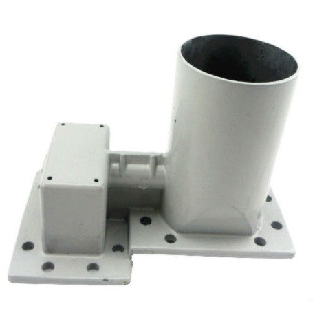 Dual feed horn banda C